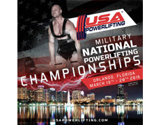 24th USA Powerlifting Military / Armed Forces Powerlifting Championships
