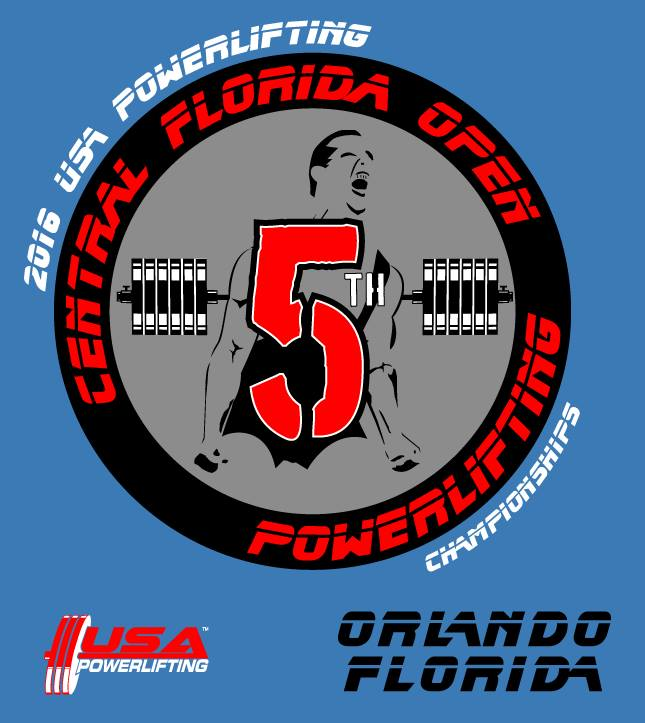 5th Annual USA Powerlifting Central Florida Open Powerlifting Championships (FL-2016-05)