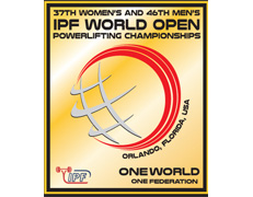 37th Women's and 46th Men's IPF World Open Powerlifting Championships
