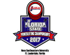 USA Powerlifting 35th Annual Florida State Open Championships (FL-2017-02)
