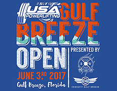 USA Powerlifting Gulf Breeze Open (FL-2017-04)