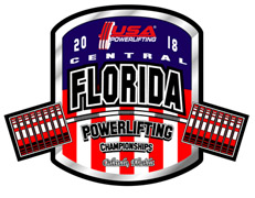 7th Annual USA Powerlifting Central Florida Open Championships (FL-2018-08) - Orlando, FL