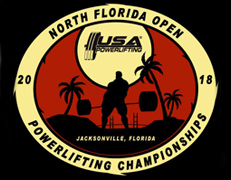 2nd Annual USA Powerlifting North Florida Open Championships (FL-2018-12)