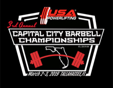 3rd Annual USA Powerlifting Capital City Barbell Championships (FL-2019-04)
