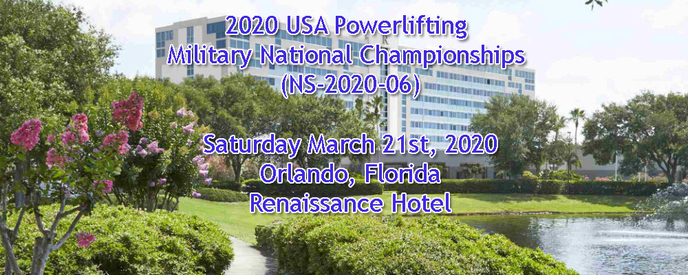 2020 USA Powerlifting Military National Championships (NS-2020-06)