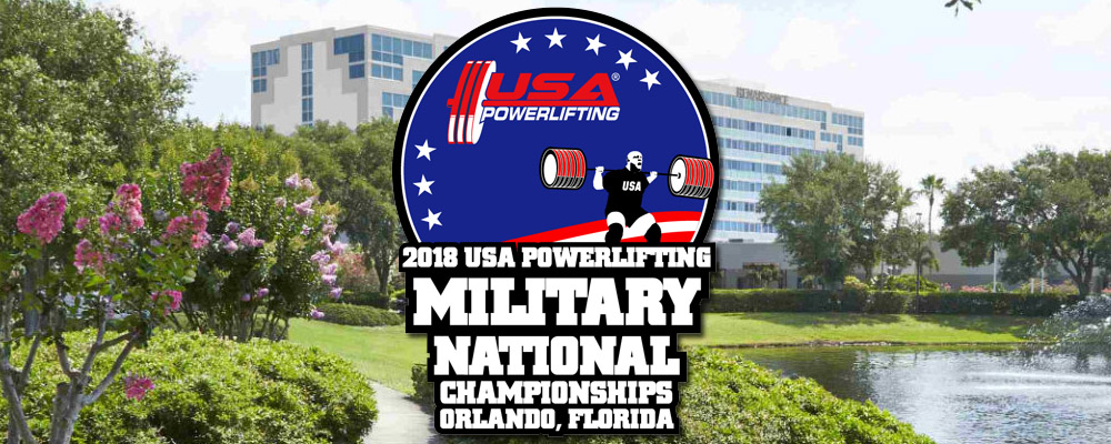 26th Annual USA Powerlifting Military National Championships (NS-2018-08)